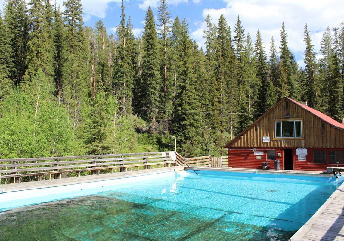 Elkhorn Hot Springs, Polaris