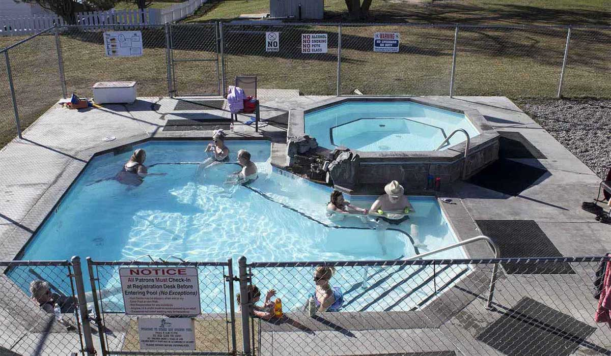 Symes Hot Springs Hotel and Mineral Baths – Hot Springs, Montana