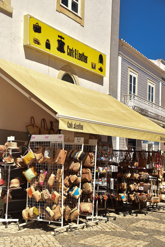 albufeira cork shop