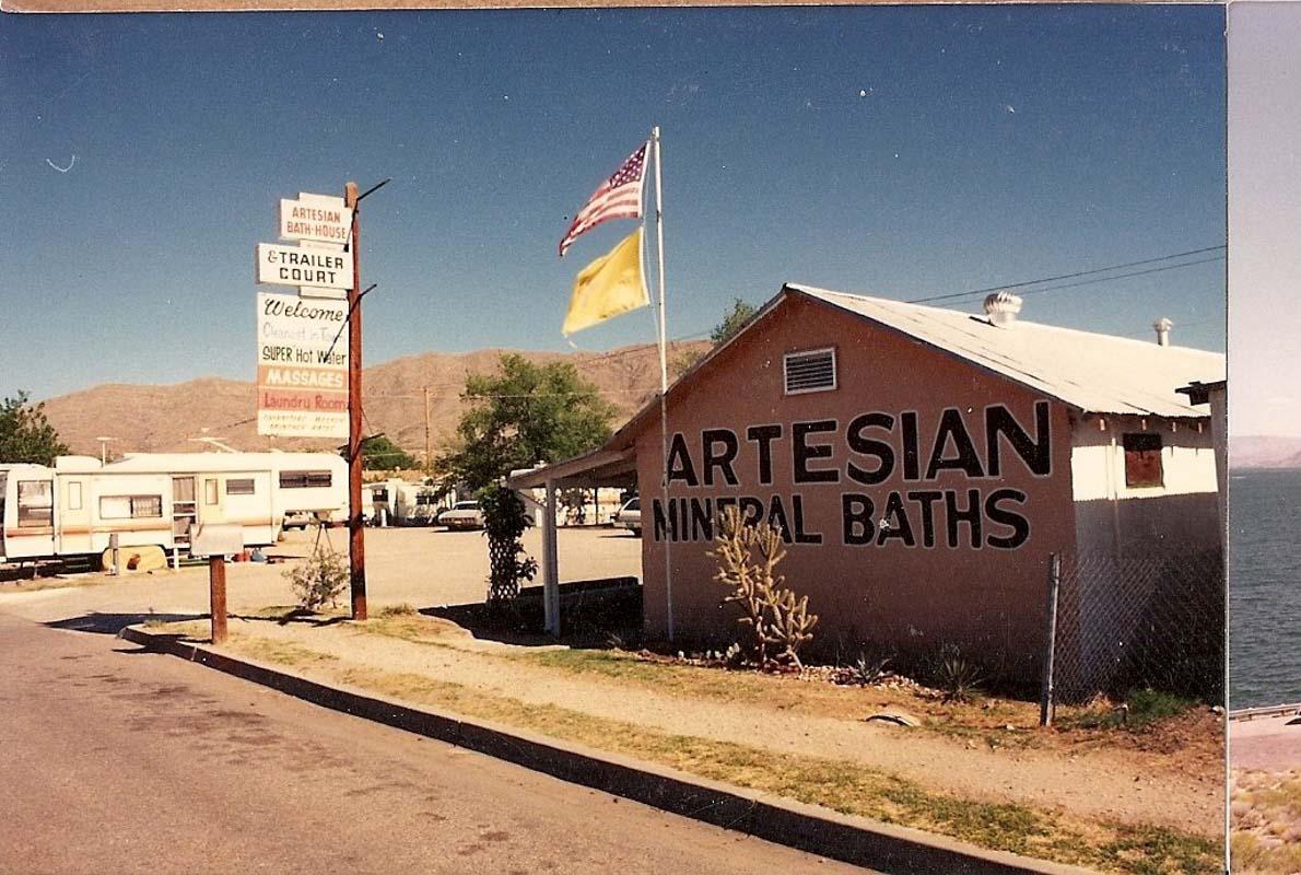 artesian bath house