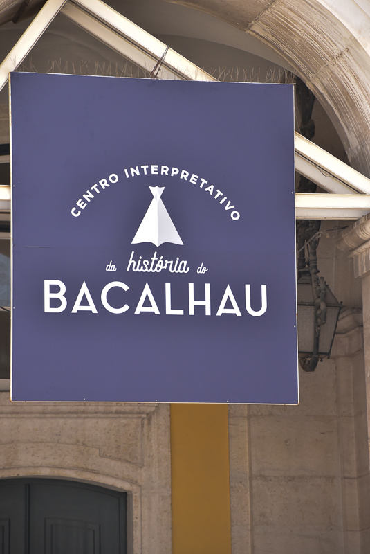 bacalhau sign in lisbon