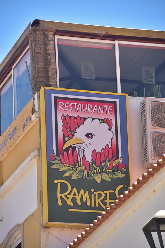 guia ramires restaurant sign