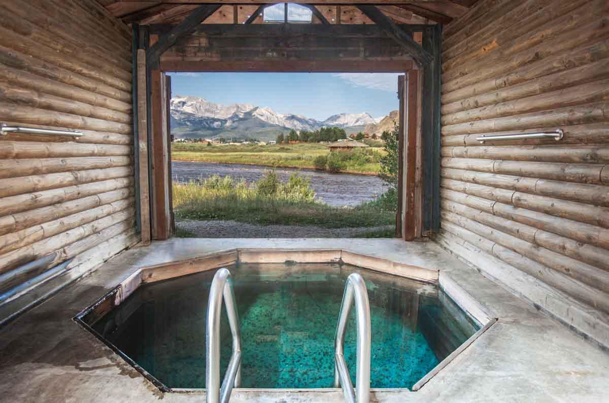 mountain village resort idaho hot springs