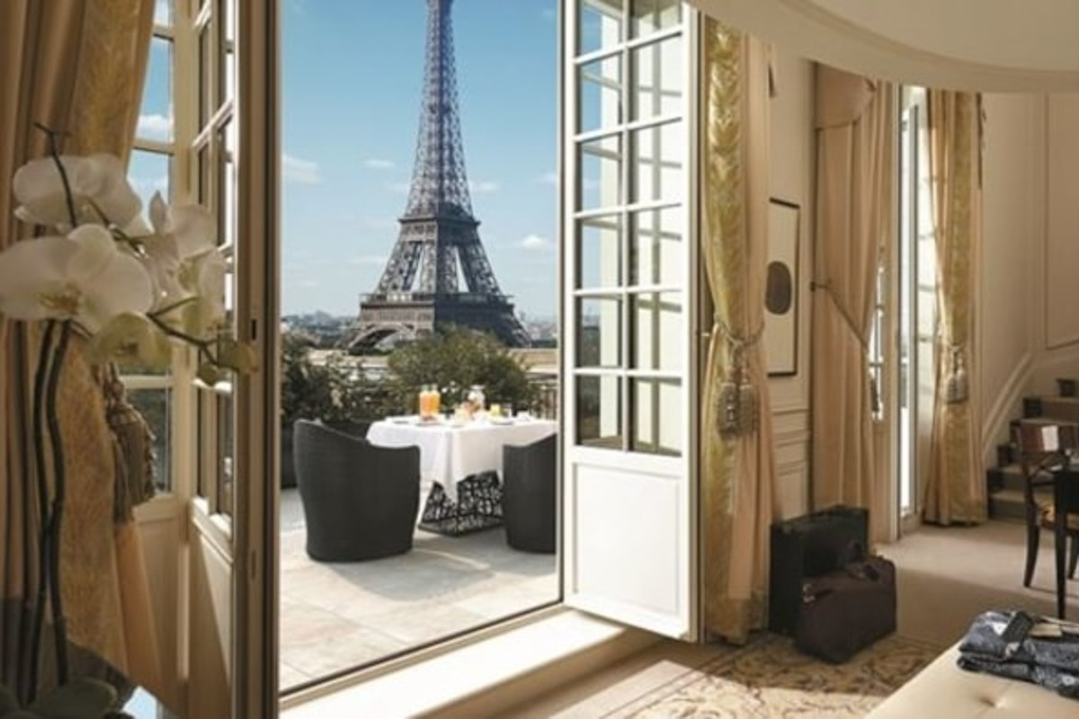 shangri-la -paris best hotels in paris with a a view of the eiffel tower