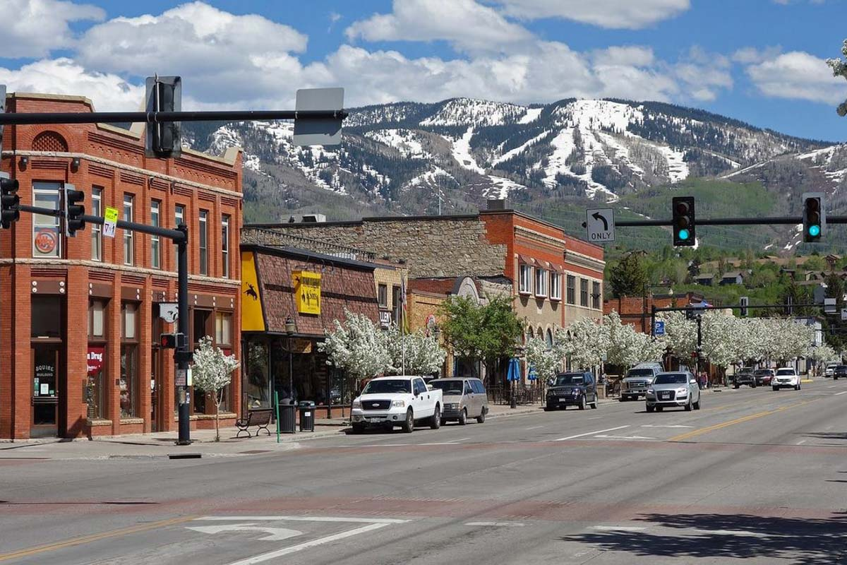 town of steamboat springs