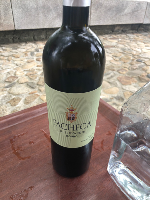 douro valley quinta da pacheca bottle