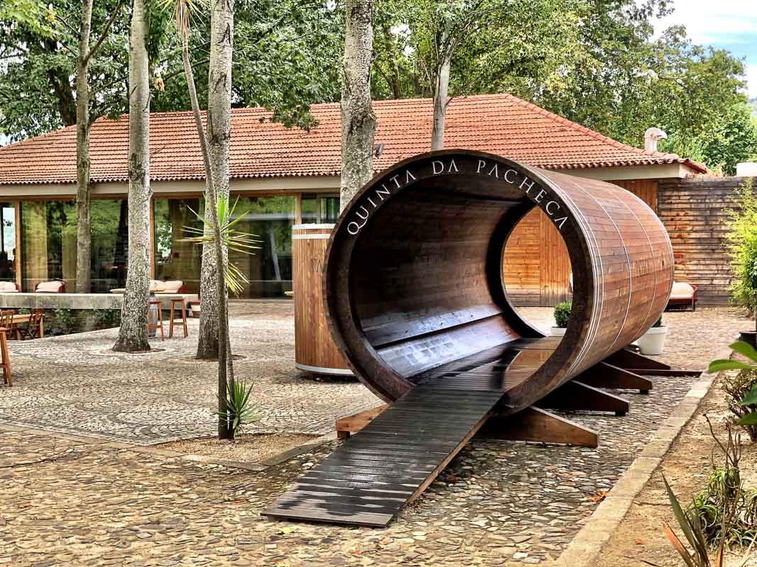 douro valley quinta da pacheca entrance