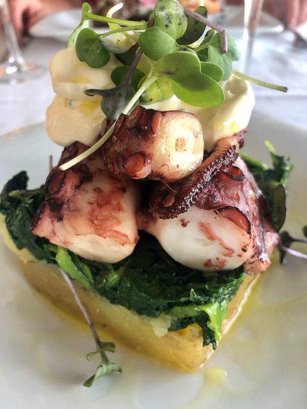 douro valley quinta da pacheca octopus lunch