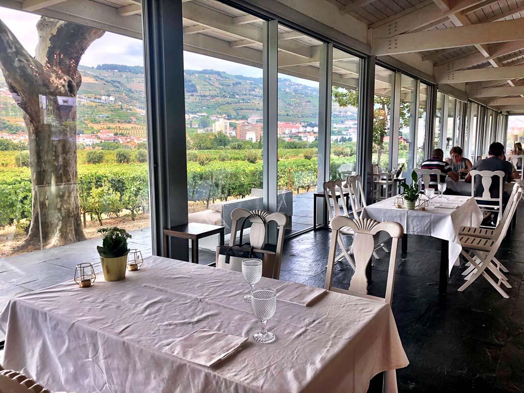 douro valley quinta da pacheca restaurant