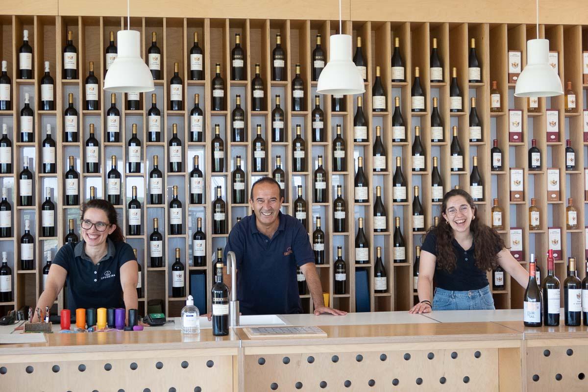 the team at ervideira winery alentejo