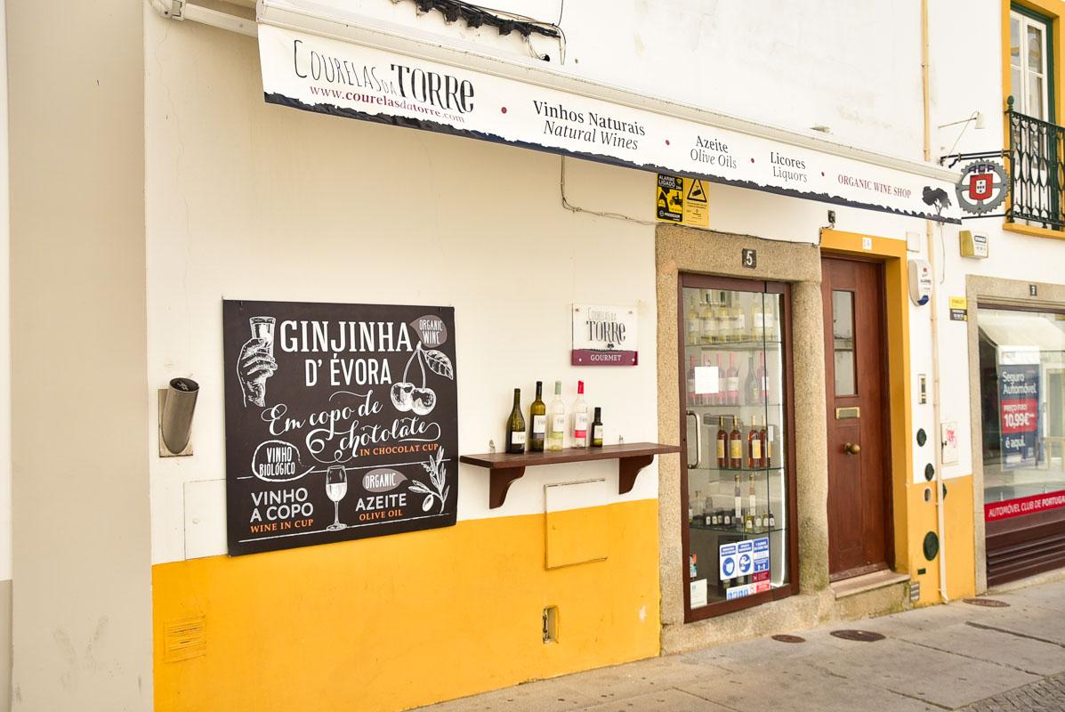 wine shop in evora