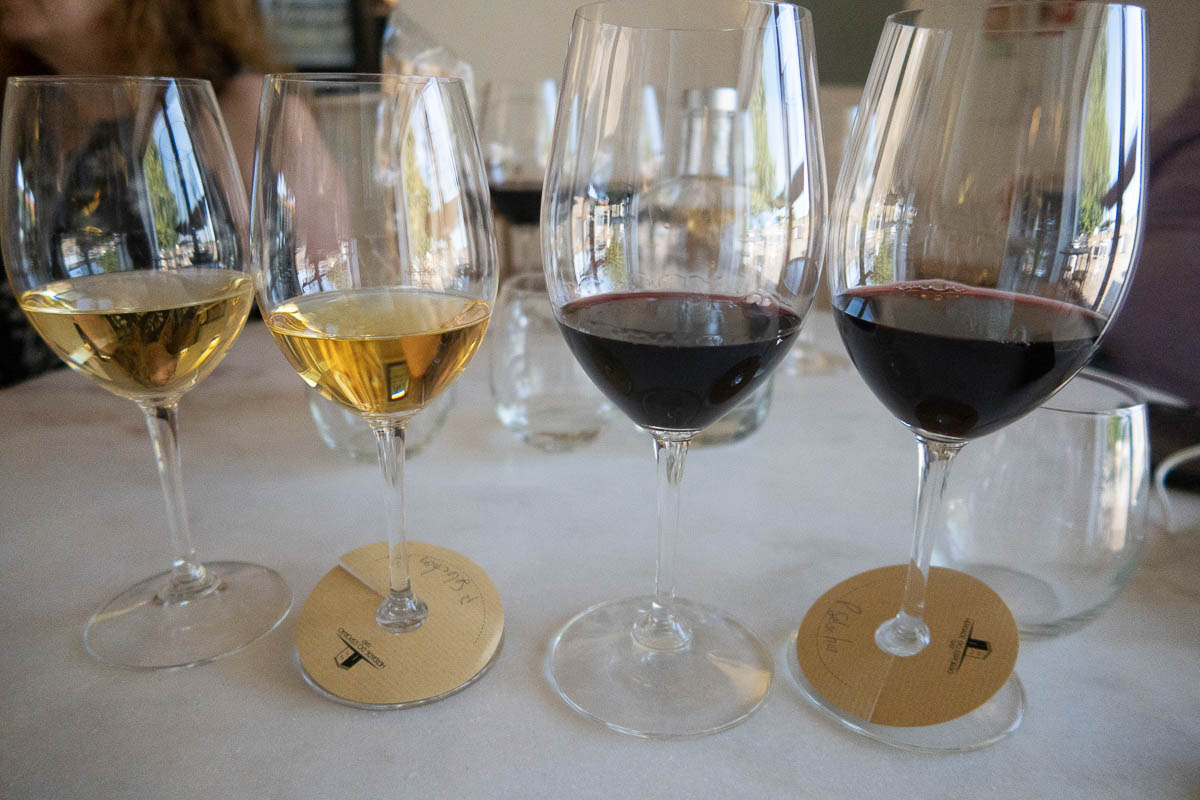 wine tasting in esporao winery alentejo